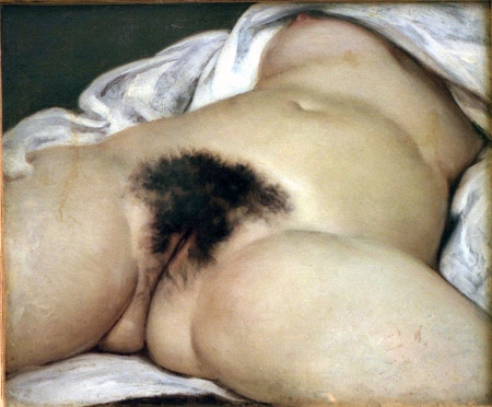 A Origem do Mundo, Gustave Courbet