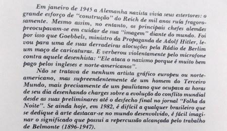 Caricatura dos Tempos, Belmonte, Introdução