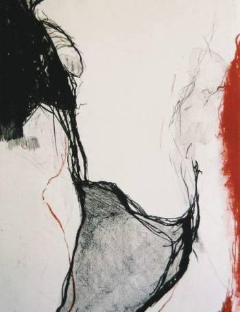 Adriene Pasa, litogravura, sem título