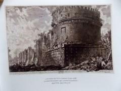 Mestres da Gravura, B. Nacional, Biblioteca Mário VII-073.302 Too1m (2). GIOVANNI BATTISTA PIRANESI (1720-1778). La Antichità Romane, 750-3, água-forte, 39,9X60,5cm