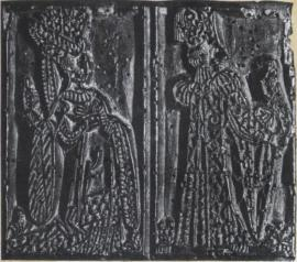 NAIPES_022, Lâminas de carta de baralho, França, séc. XV