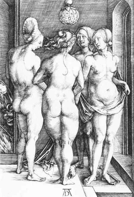 Dürer, as 4 feiticeiras