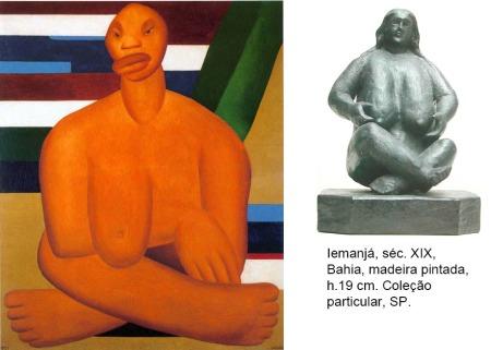 Iemanjá, séc. XIX e a Negra de Tarsila do Amaral