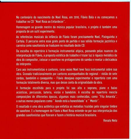 Noel Rosa ao Entardercer, 3