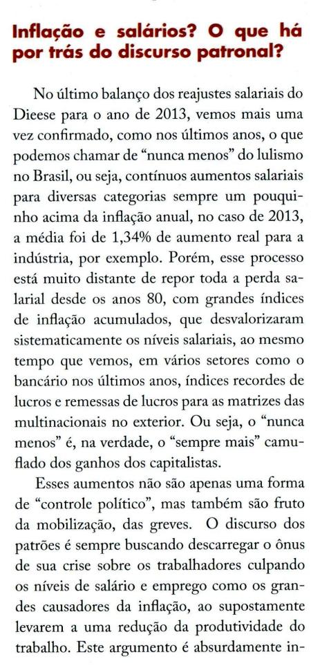 luta de classes, 2, Flávia Ferreira