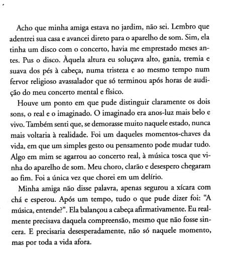 Dentro da Chuva Amarela, Mendelssohn op.68, cont.