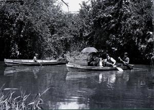 Imagens Históricas - barcos no Tamanduateí