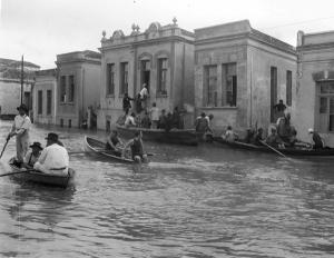 Rio Tamanduateí, enchente de 1929