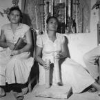 ©-Marcel-Gautherot-Tocadora-de-ferro-e-de-taboca-no-terreiro-de-D.-Isabel-–-Cururupu-Maranhão-1958