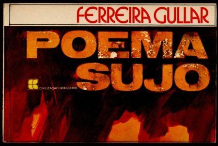 Poema Sujo, Ferreira Gullar, capa da primeira edição.